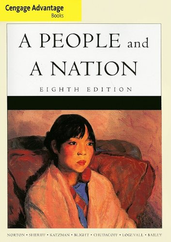 People and a Nation A History of the United States 2nd 2009 9780547060330 Front Cover