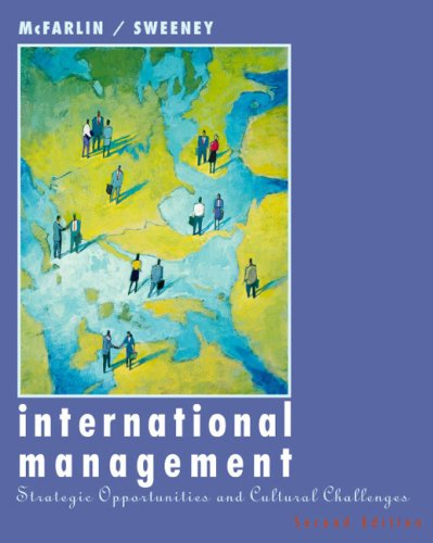 International Management Strategic Opportunities and Cultural Challenges 2nd 2003 9780618113330 Front Cover
