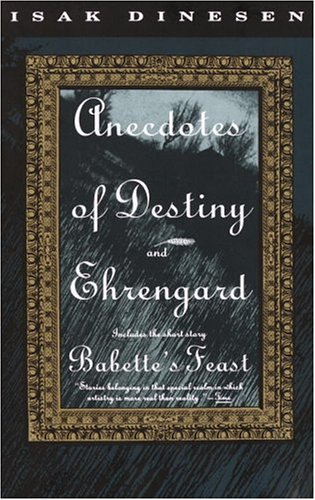 Anecdotes of Destiny and Ehrengard  N/A edition cover