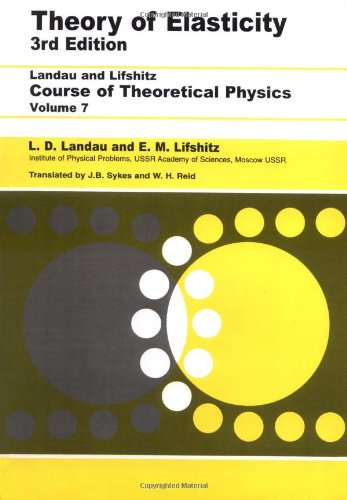 Theory of Elasticity  3rd (Revised) edition cover