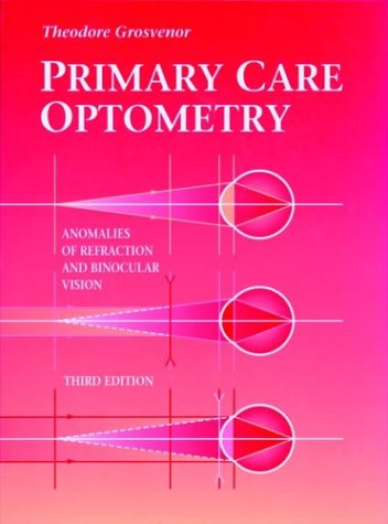 Primary Care Optometry 3rd 1996 9780750697330 Front Cover