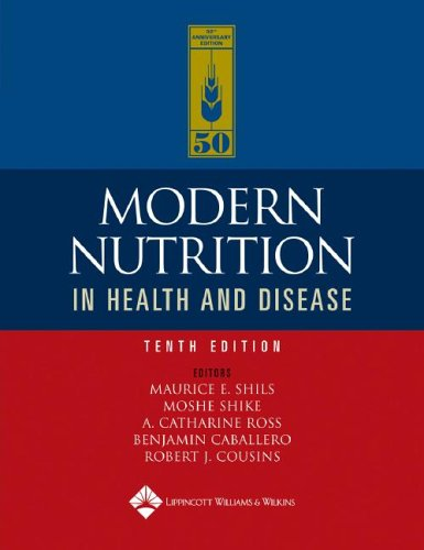 Modern Nutrition in Health and Disease  10th 2006 (Revised) edition cover