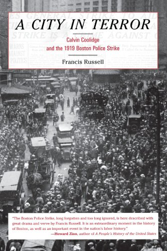 City in Terror : Calvin Coolidge and the 1919 Boston Police Strike  1975 edition cover