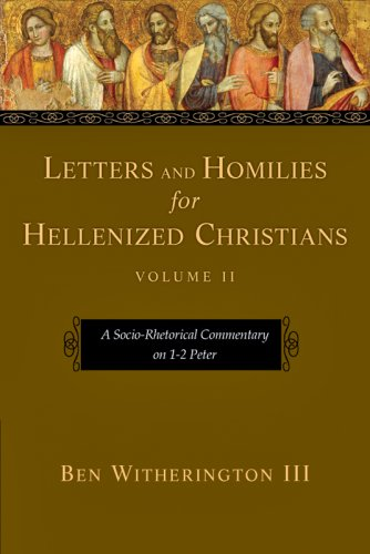 Socio-Rhetorical Commentary on 1-2 Peter  N/A edition cover