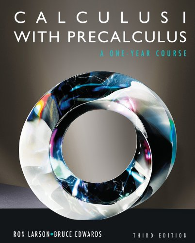 Calculus I with Precalculus  3rd 2012 edition cover