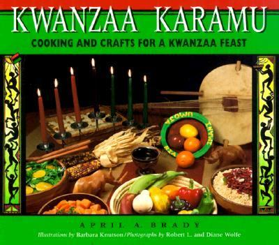 Kwanzaa Karamu Cooking and Crafts for a Kwanzaa Feast  1995 9780876146330 Front Cover