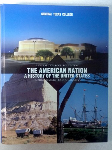 American Nation A History of the United States (Custom Edition, Central Texas College) 14th edition cover