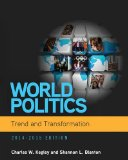 World Politics Trend and Transformation 2014-2015 15th 2015 edition cover