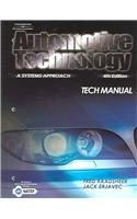 Automotive Technology A Systems Approach 4th 2005 9781401848330 Front Cover