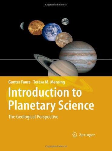 Introduction to Planetary Science The Geological Perspective  2007 edition cover