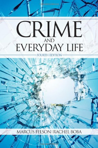 Crime and Everyday Life  4th 2010 edition cover