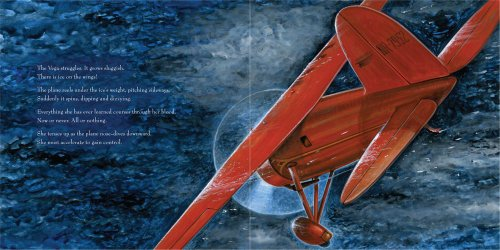 Night Flight Amelia Earhart Crosses the Atlantic  2011 edition cover