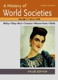 A History of World Societies: Since 1450, Value Edition  2014 edition cover