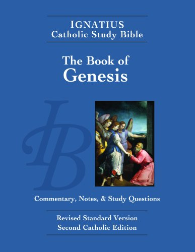Ignatius Catholic Study Bible: Book of Genesis  N/A edition cover
