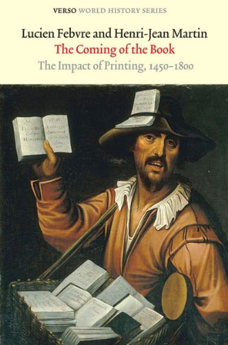 Coming of the Book The Impact of Printing, 1450-1800 3rd 2010 edition cover