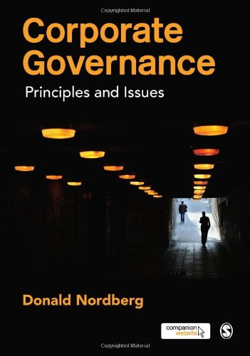 Corporate Governance Principles and Issues  2011 edition cover