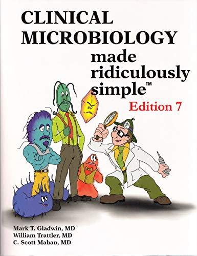 Clinical Microbiology Made Ridiculously Simple  7th 2019 9781935660330 Front Cover