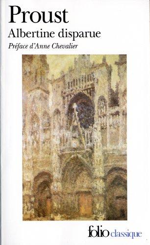 Albertine Disparue  1990 edition cover