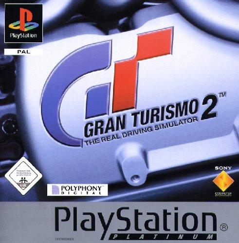 Gran Turismo 2 - Platinum PlayStation artwork