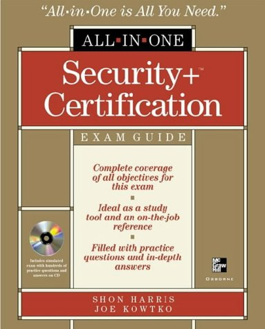 Security+ Certification All-in-One Exam Guide   2003 9780072226331 Front Cover