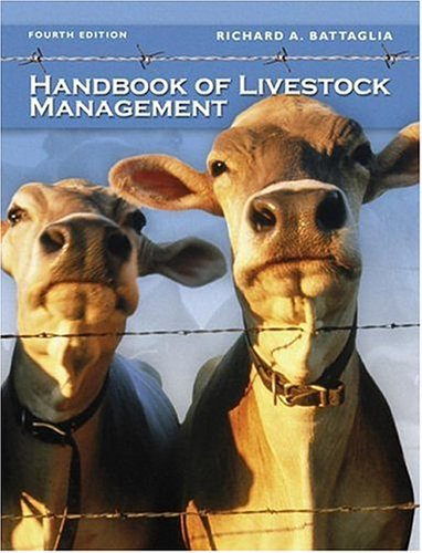 Handbook of Livestock Management  4th 2007 (Revised) edition cover