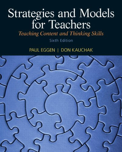Strategies and Models for Teachers Teaching Content and Thinking Skills 6th 2012 edition cover