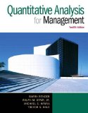 Quantitative Analysis for Management  12th 2015 9780133507331 Front Cover