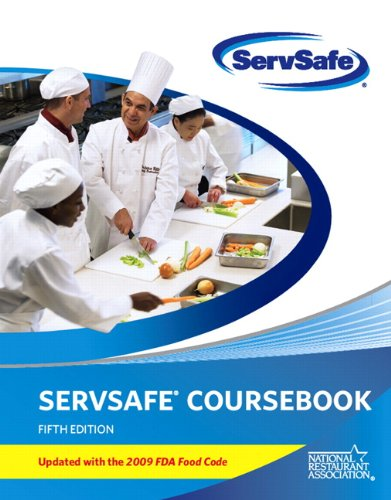 ServSafe Coursebook 2009  5th 2011 (Revised) edition cover