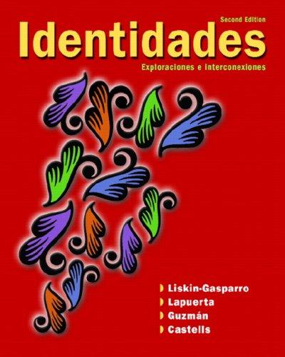 Identidades Exploraciones e Interconexiones 2nd 2009 edition cover