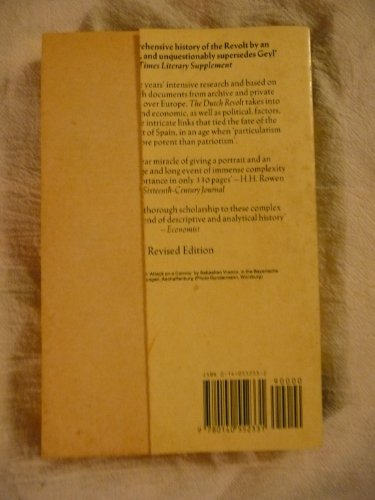 Dutch Revolt   1988 (Revised) edition cover