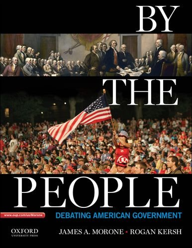 By the People Debating American Government  2013 edition cover