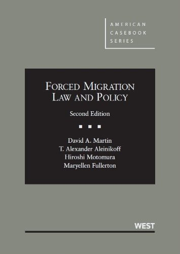 Forced Migration Law and Policy:   2013 edition cover