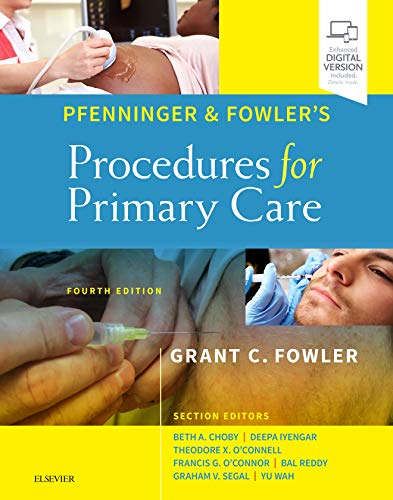 Pfenninger and Fowler's Procedures for Primary Care  4th 2020 9780323476331 Front Cover