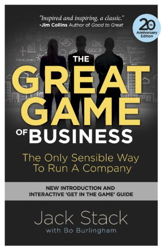 Great Game of Business The Only Sensible Way to Run a Company N/A 9780385348331 Front Cover