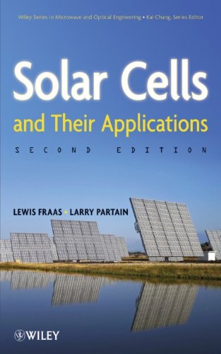 Solar Cells and Their Applications  2nd 2010 9780470446331 Front Cover