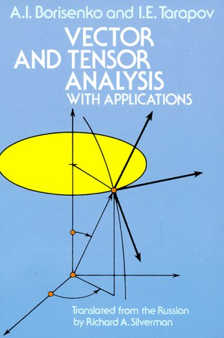 Vector and Tensor Analysis with Applications   1979 (Reprint) edition cover