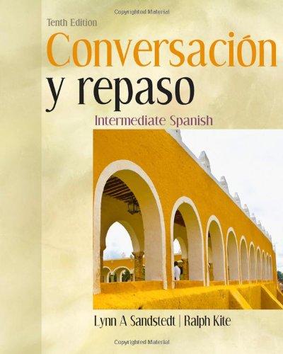Conversacion y Repaso Intermediate Spanish 10th 2011 edition cover
