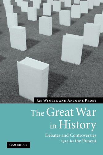 Great War in History Debates and Controversies, 1914 to the Present  2005 edition cover