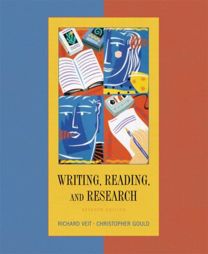 Writing, Reading, and Research 7th 2007 9780618918331 Front Cover