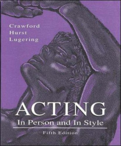 Acting In Person and in Style 5th 1994 (Revised) edition cover