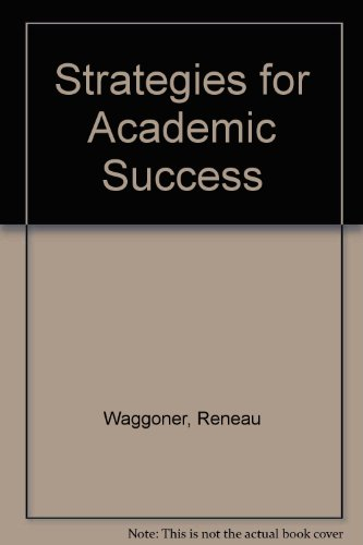 Stratgies for Academic Success 3rd (Revised) 9780757563331 Front Cover