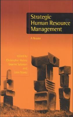 Strategic Human Resource Management A Reader  1998 9780761960331 Front Cover