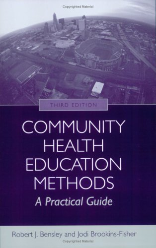Community Health Education Methods  3rd 2009 (Revised) edition cover