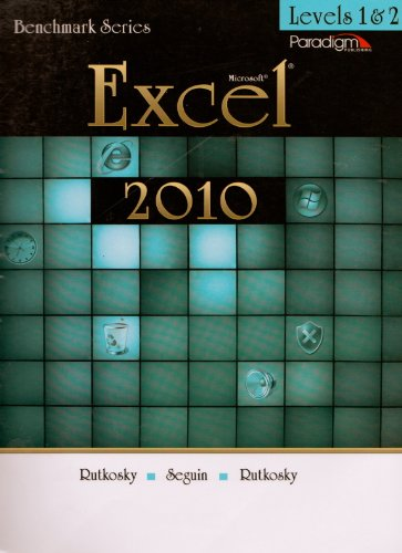 MICROSOFT EXCEL 2010 LEVELS 1+ N/A 9780763838331 Front Cover