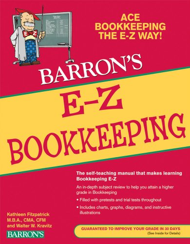 E-Z Bookkeeping  4th 2010 (Revised) edition cover