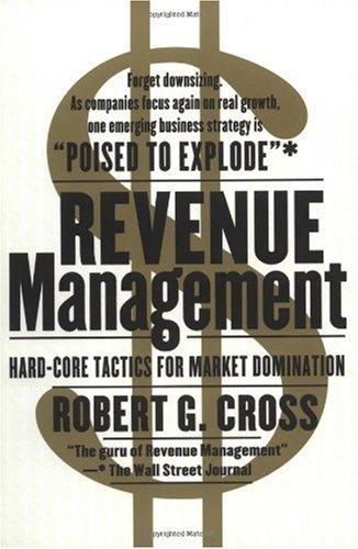 Revenue Management  Reprint edition cover