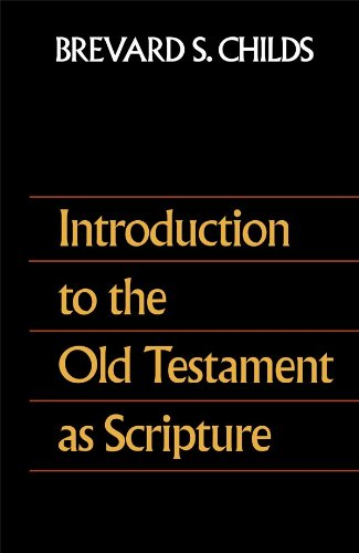 Introduction to Old Testament As Scripture  N/A edition cover