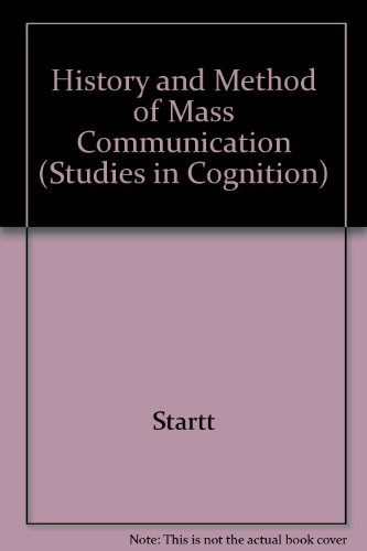 Historical Methods in Mass Communication N/A edition cover