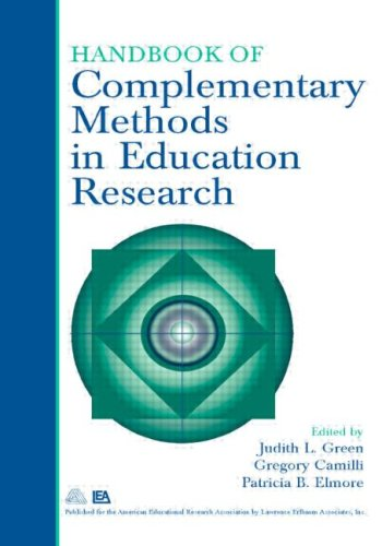 Handbook of Complementary Methods in Education Research  3rd 2006 (Revised) edition cover