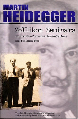 Zollikon Seminars Protocols - Conversations - Letters  2001 edition cover